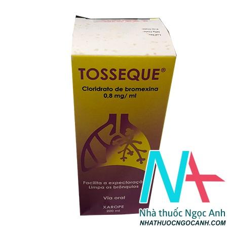 Tosseque là thuốc gì
