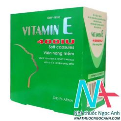 Hình ảnh: Vitamin E 400UI