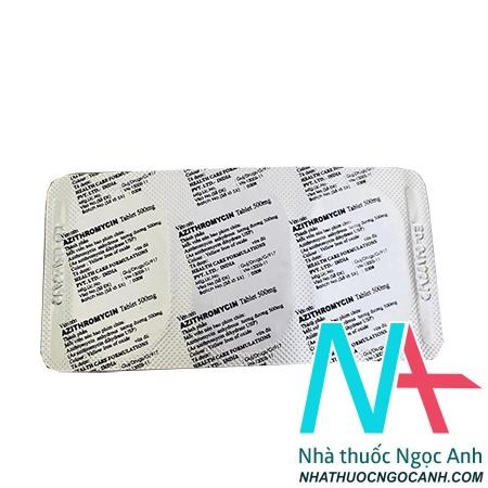 vỉ azithromycin