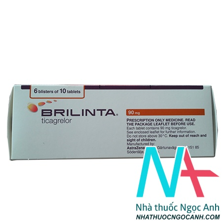brilinta 90mg là thuốc gì