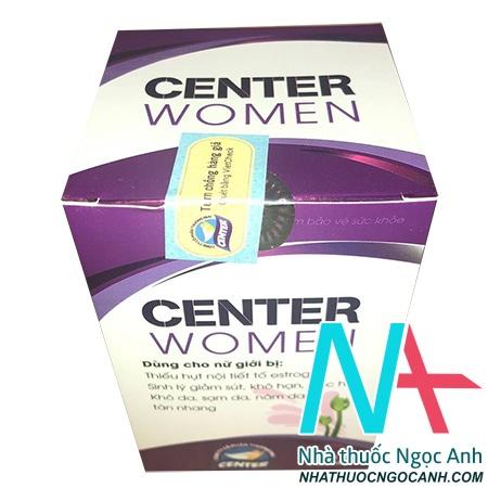 sản phẩm Center Women
