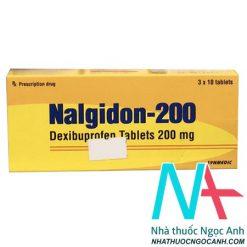 Thuốc Nalgidon 200 mg