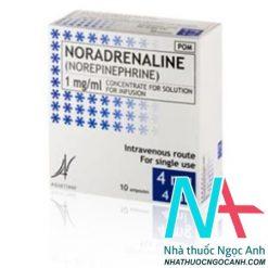 Thuốc Noradrenaline Aguettant