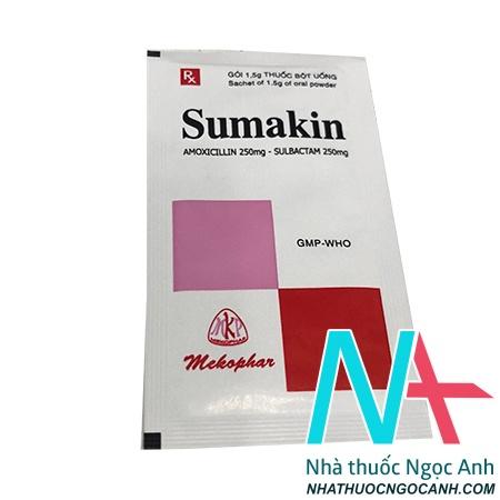 Sumakin có tác dụng gì