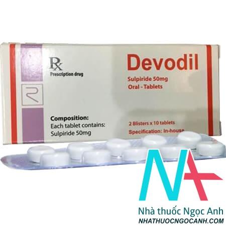 Thuốc Devodil có tác dụng gì