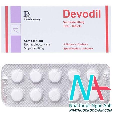 Thuốc Devodil là thuốc gì
