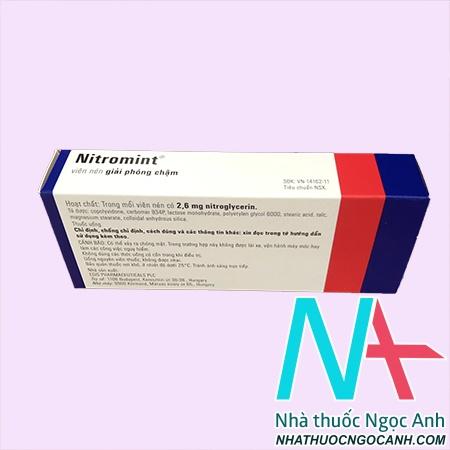 Nitromint là thuốc gì