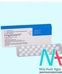 Orgametril 5mg là thuốc gì
