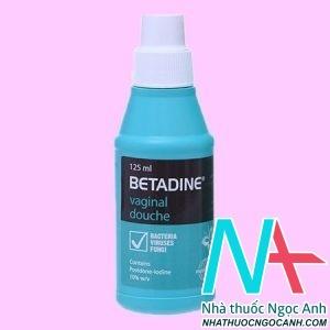 Betadine Vaginal Xanh