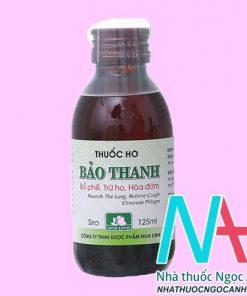 Siro ho Bảo Thanh 125ml