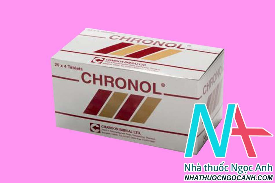 Thuốc Chronol 500mg