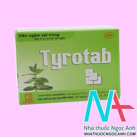 Thuốc Tyrotab mua ở đâu