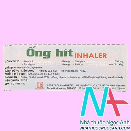 Ống Hít Inhalergiá bao nhiêu