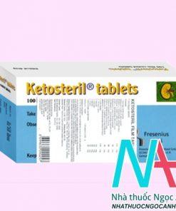 ketosteril tablets là thuốc gì