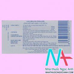 thuốc Axe Brand Inhaler