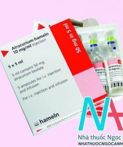 Thuốc Atracurium - hameln 10 mg/ml