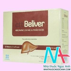 Thuốc Beliver có tác dụng gì