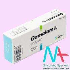 ThuốcGamalate B6® có tác dụng gì
