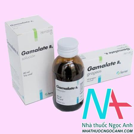 ThuốcGamalate B6® là thuốc gì