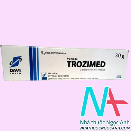 Thuốc Kem trozimed có tác dụng gì