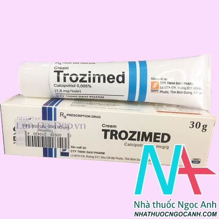 Thuốc Kem trozimed