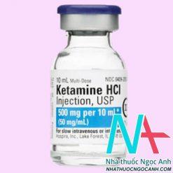 Thuốc Ketamine 500mg giá bao nhiêu
