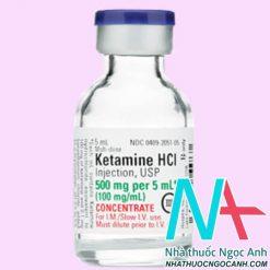 Thuốc Ketamine 500mg