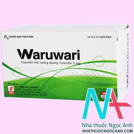 Thuốc Waruwari có tác dụng gì
