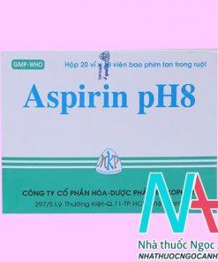 Thuốc Aspirin pH8