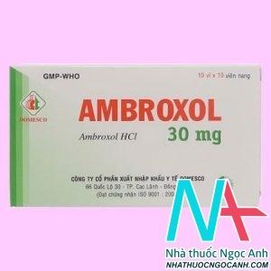 Ambroxol 30mg