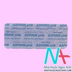 Vỉ Thuốc Aspirin pH8
