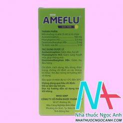 Hộp Siro New Ameflu Daytime