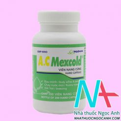 Thuốc A.C Mexcold