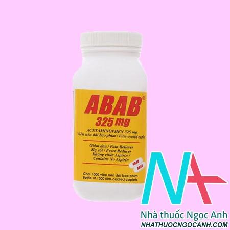 Lọ Abab 325 mg