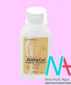 Thuốc Allhical 180ml có tác dụng gì