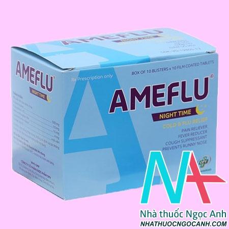 Thuốc Ameflu Night Time
