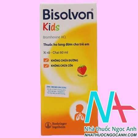 Siro Bisolvon Kids