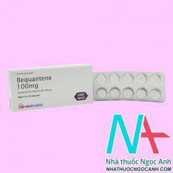 thuốc Bequantene 100mg giá bao nhiêu