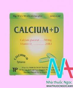 Calcium + D