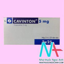 Thuốc Cavinton 5mg