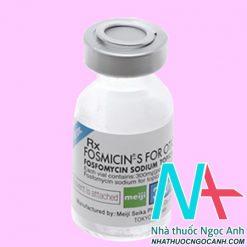 Fosmicin S For Otic 300mg giá bao nhiêu
