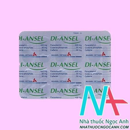 Vỉ thuốc Di - Ansel