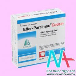 Thuốc Effer - Paralmax Codein