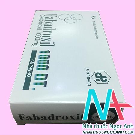 Thuốc Fabadroxil 1000 có tác dụng gì