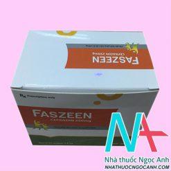 Thuốc Faszeen có tác dụng gì