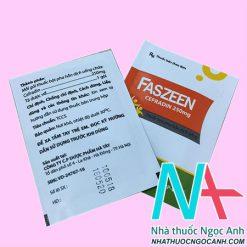 Thuốc Faszeen giá bao nhiêu