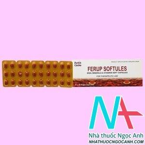 Thuốc Ferup Softules