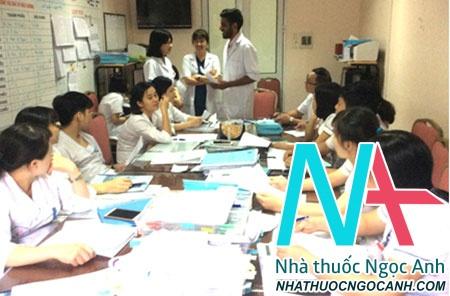 Lớp học tiếng Anh cho điều dưỡng tại Khoa Nội Tổng hợp