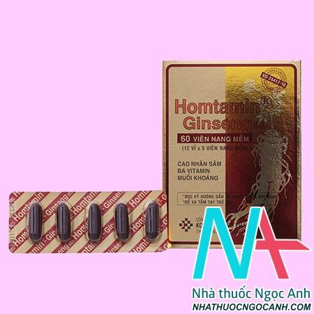 Homtamin Ginseng