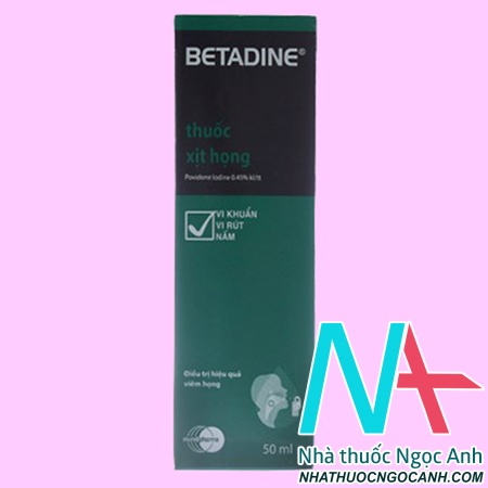 thuốc Betadin Throat Spray 50ml
